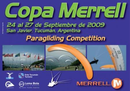 COPA MERRELL - Afiche